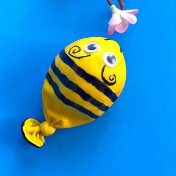 Bumblebee Balloon Sensory Craft
