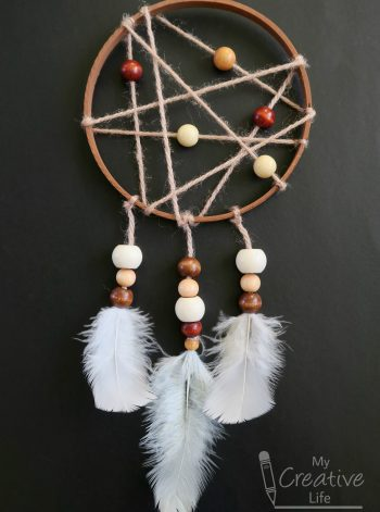 Embroidery Hoop Dream Catcher