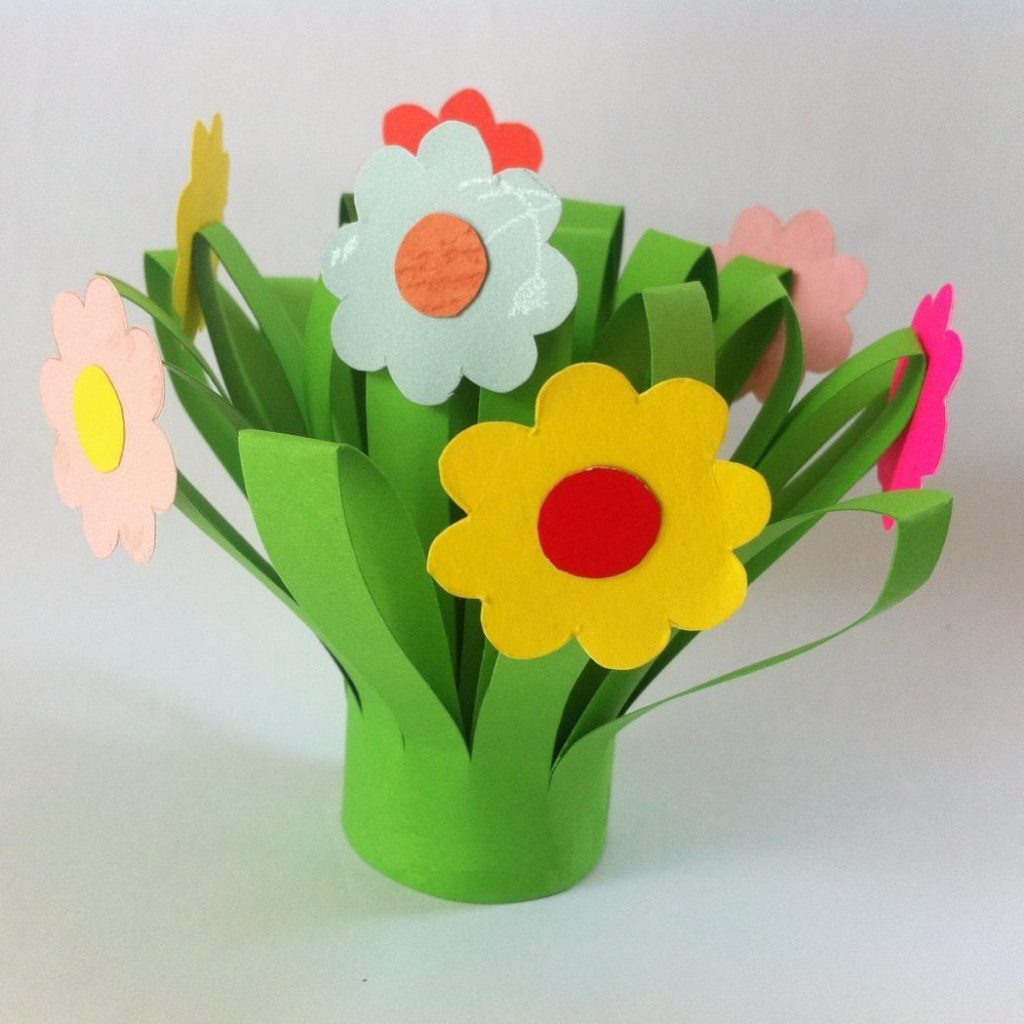 Paper flower bouquet fun family crafts paper flower bouquet izmirmasajfo