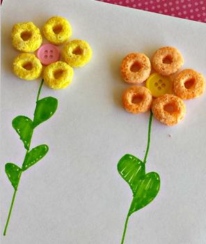 Froot Loop Flowers
