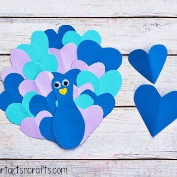 Heart Peacock