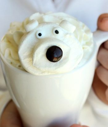 Polar Bear White Hot Chocolate