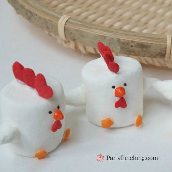 Rooster Marshmallows
