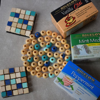 Wood Bead Trivets