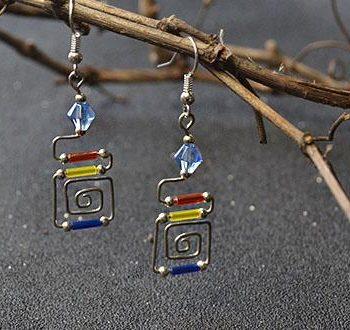 Bugle Bead Earrings