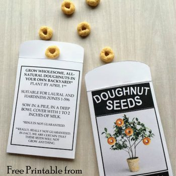 April Fool's Day Doughnut Seeds