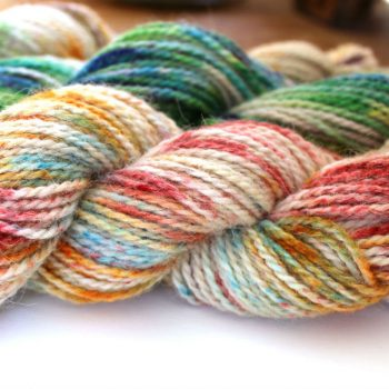Speckle Dye Yarn with Kool-Aid