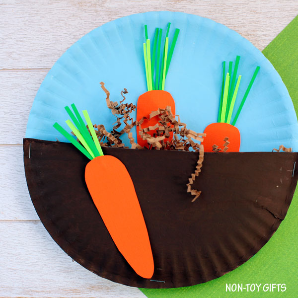 carrots in the garden fun family crafts