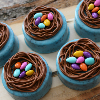 Oreo Easter Nests