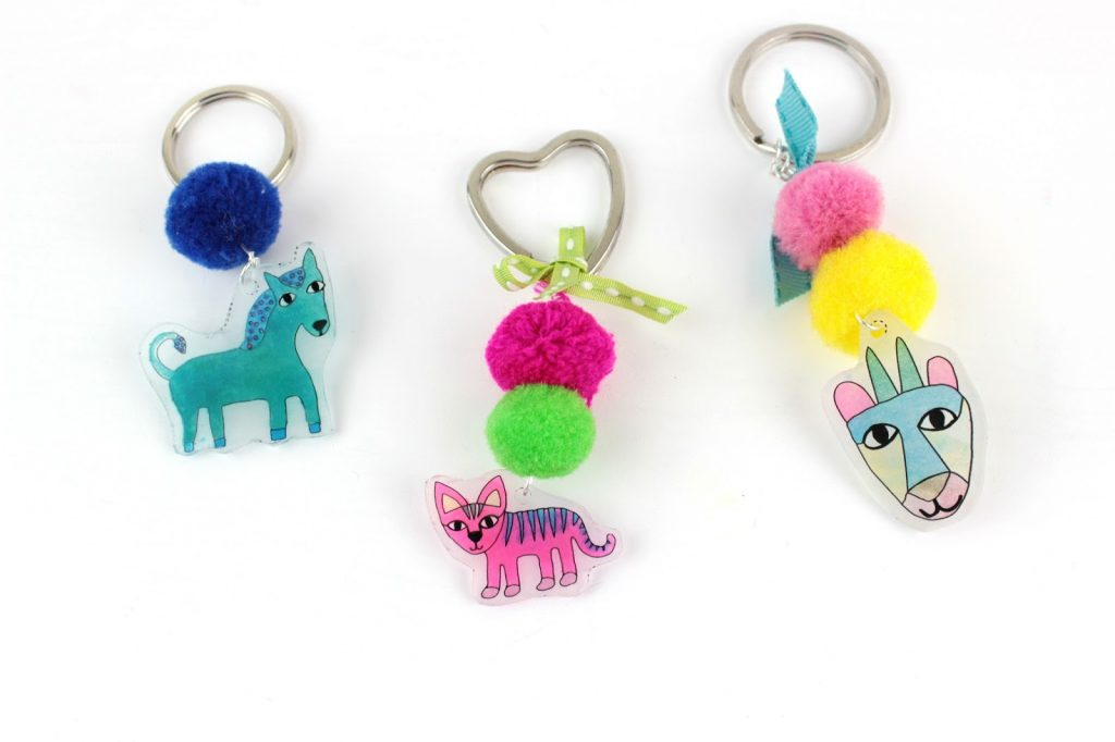 how to make plastic keychains instructions