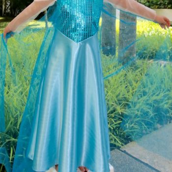 Frozen-Inspired Princess Dress