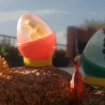 Dinosaur Egg Soap and Soap Holder
