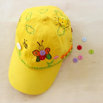 Decorated Summer Hat