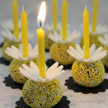 Daisy Birthday Truffles