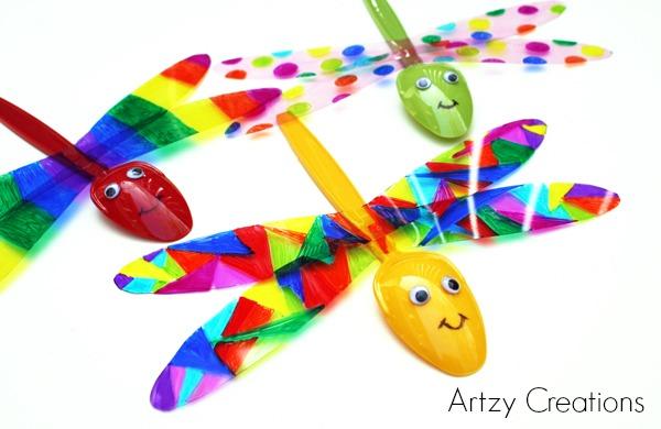 Garden Dragonflies Fun Family Crafts