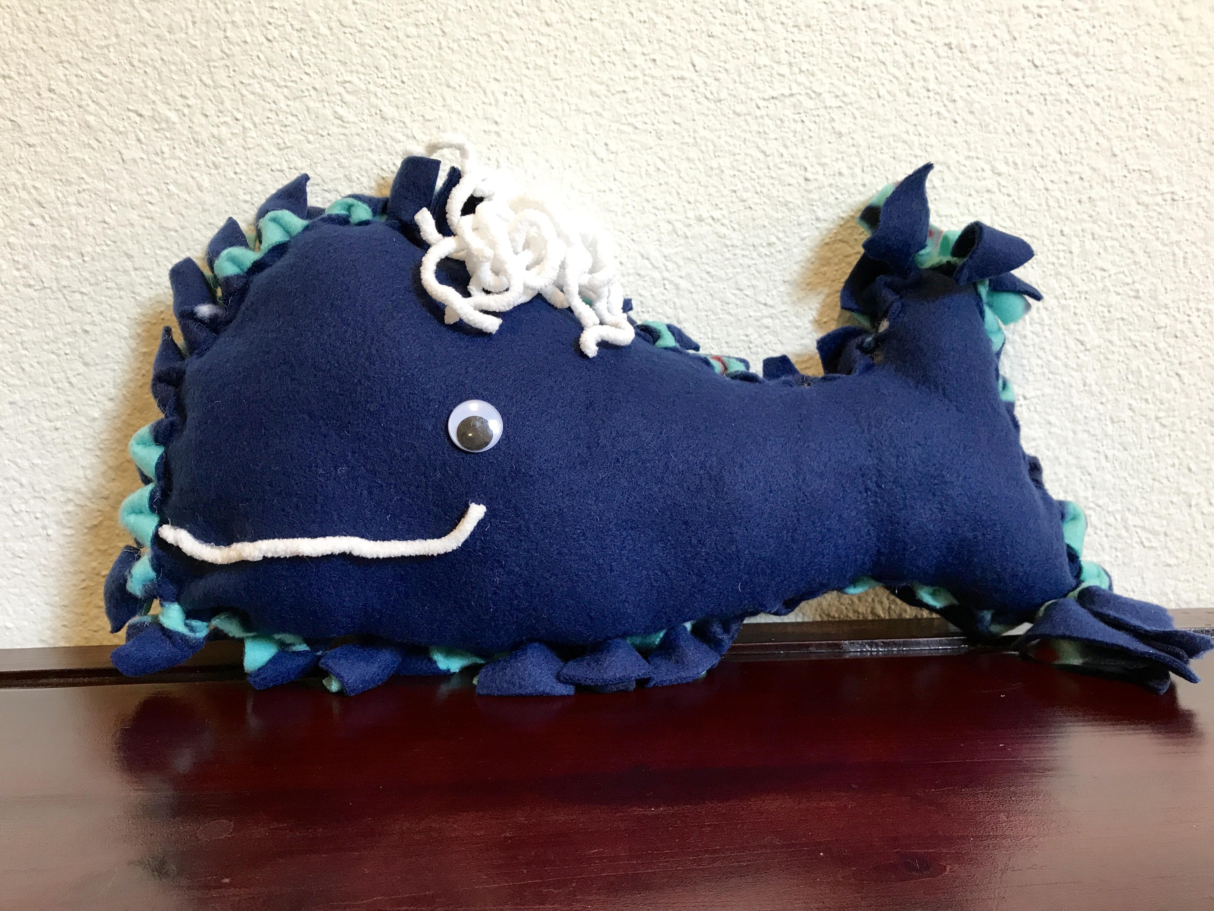 No-Sew Fleece Whale Pillow & no sew Archives | Fun Family Crafts pillowsntoast.com