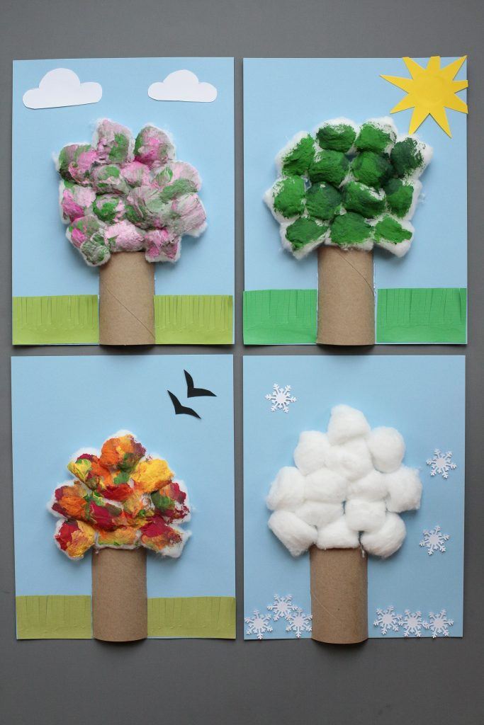Four Season Tree Fun Family Crafts