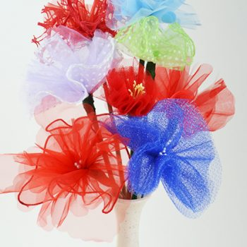 Tulle Flower Bouquet