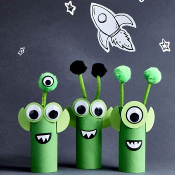 Alien Crafts For Toddlers