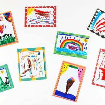 Kids' Artwork Magnets