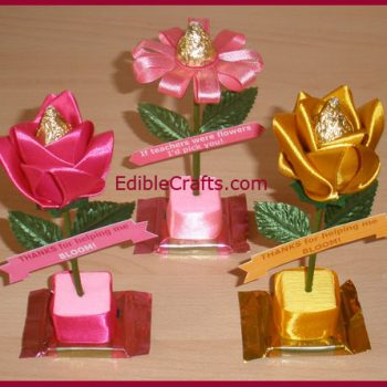 Chocolate Flower Teacher Gift