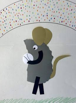 Torn Paper 'Frederick' Mouse