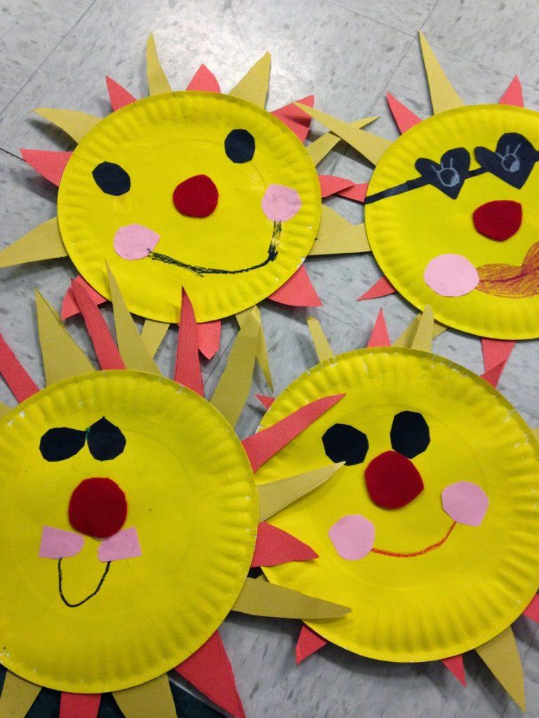 Paper Plate Sun & Paper Plate Sun | Fun Family Crafts