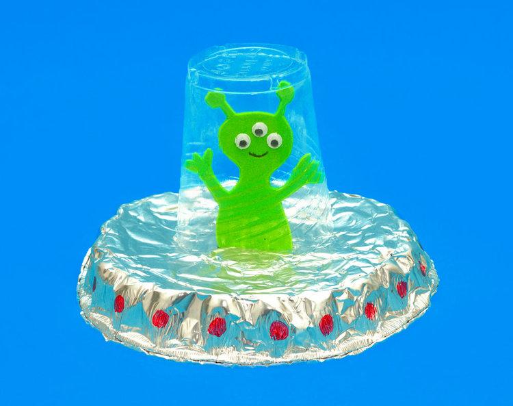 Alien UFO Space Craft | Fun Family Crafts