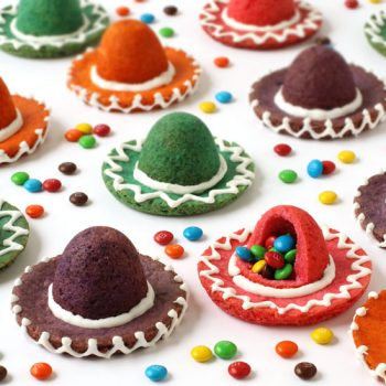 Candy-Filled Sombrero Cookies