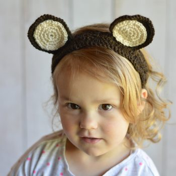 Woodland Animal Ears Crochet Headbands