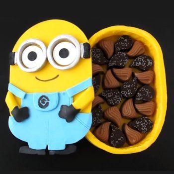 Chocolate Minion Box