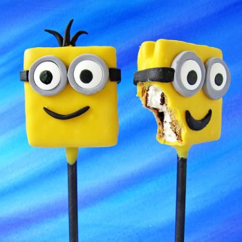 Minion S'mores Pops