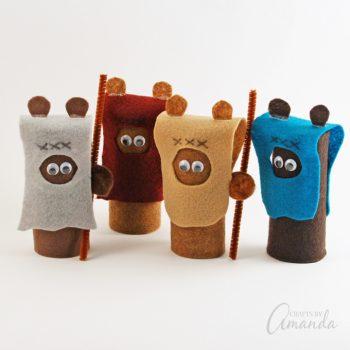 Cardboard Tube Ewoks