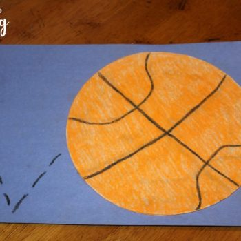 Coffee Filter Basketball