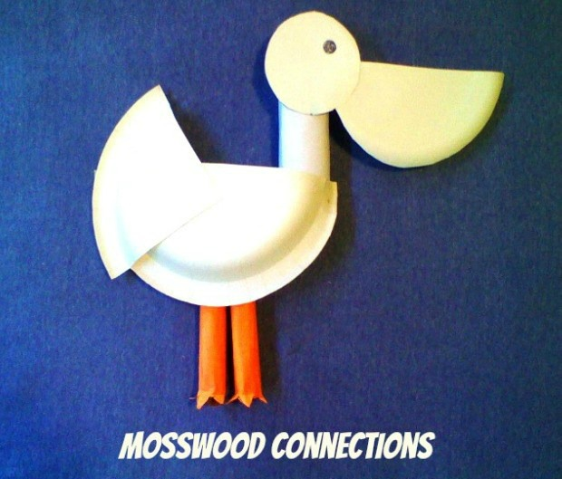 Paper Plate Pelican Fun Family Crafts