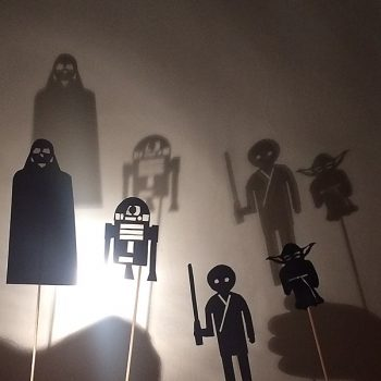 Star Wars Shadow Puppets