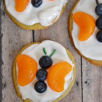 Butterfly Fruit Cookies