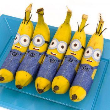 Printable Banana Minions