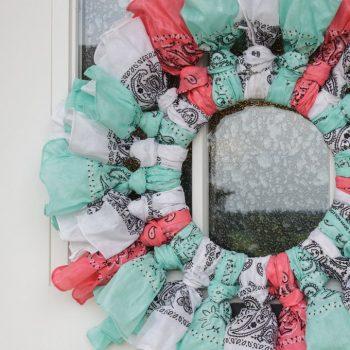 Bandana Wreath