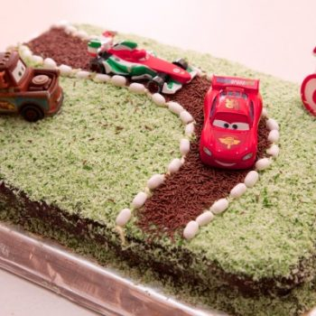 Easy Disney Cars Cake