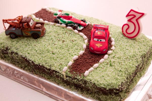 Easy Disney Cars Cake Fun Family Crafts