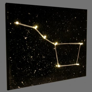 Light-Up Constellation Canvas