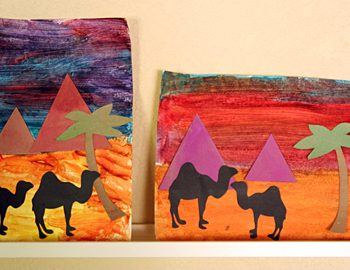Pyramids at Sunset Project