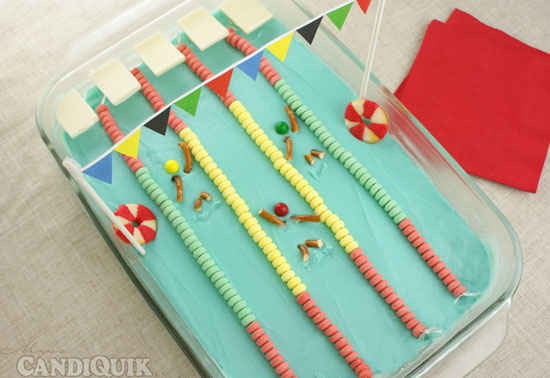 Swimming Pool Cake Fun Family Crafts
