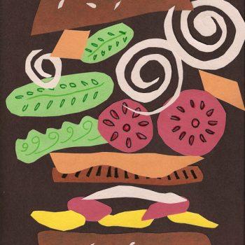 Hamburger Collage