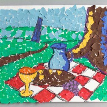 Impressionist Picnic Mosaic