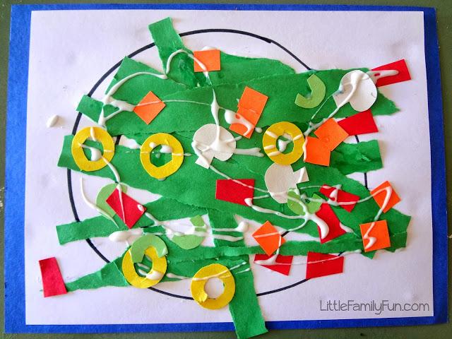 Green Salad Craft Fun Family Crafts