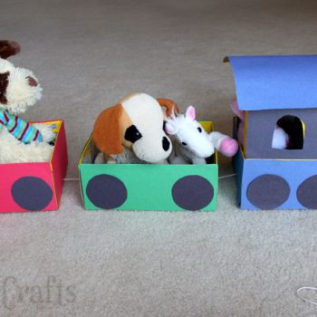 Shoebox Train Craft