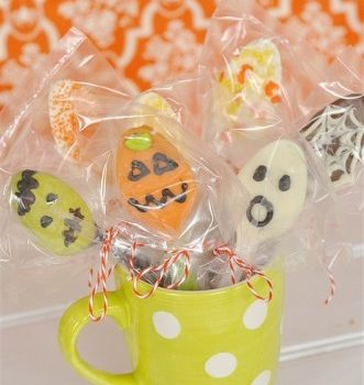 Halloween Hot Chocolate Spoons
