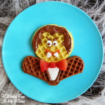 Dracula Waffle Breakfast